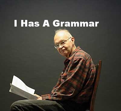 Donald Knuth has a grammar