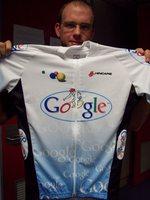 google cycling jersey